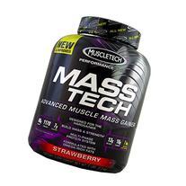 Muscletech Masstech Performance Supplement, Strawberry, 7