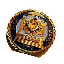 "1.75"" Master Mason Commemorative Initiated Passed Raised"