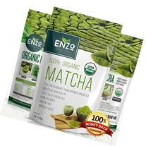 Matcha Green Tea Powder 4oz - Organic Vegan Milky Taste USDA