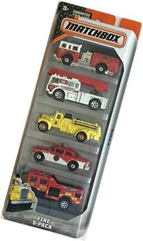 Matchbox 2015 Fire 5-Pack