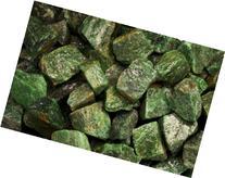 Fantasia Materials: 1 lb Dark Green Aventurine Rough -  -