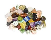 Fantasia Materials: 2 lbs of Bulk Rough INDIA Stone Mix -