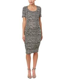 Tart Collections Women's Maternity Bump Roached Midi Dress,