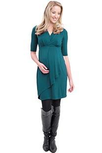 Ripe Maternity Katerina Nursing Dress - Kale - Large