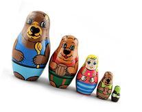 Matryoshka Matrioska Babuska Russian Nesting Wooden Doll