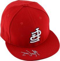 Matt Carpenter St. Louis Cardinals Autographed Red Cap -