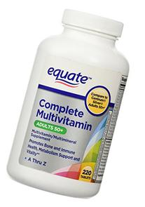 Equate Complete Multivitamin Adults 50 Searchub