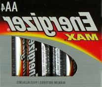 Energizer Max AA Long Lasting Alkaline Batteries 4 Pack