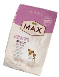 Nutro MAX Adult Mini Chunk Dog Food, Natural Chicken Meal