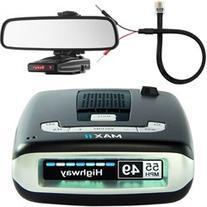 Escort Max II HD Radar Detector w/ Mount & Power Cord Bundle