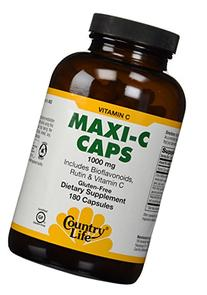Country Life Maxi-C Caps 1000 Mg (with bioflavonoids, Rutin