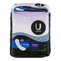 U by Kotex Security Maxi Overnight Pads, Regular, Unscented