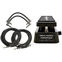 Dunlop MC404 CAE Dual Inductor Wah Pedal w/ 4 Cables