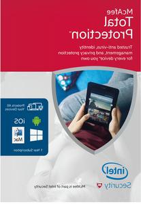 McAfee 2016 Total Protection Unlimited Device