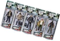 McFarlane The Walking Dead Morgan Jones, Dale Horvath, Bob
