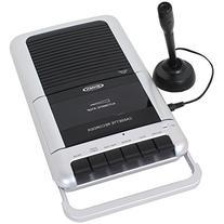 Jensen MCR-100 Cassette Player/Recorder 1 Touch Recording
