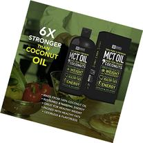 Premium MCT Oil derived only from Organic Coconuts - 32oz