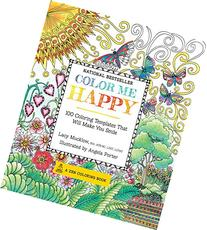 Color Me Happy: 100 Coloring Templates That Will Make You