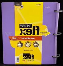 Five Star Flex Hybrid NoteBinder, 1 Inch Binder, Notebook
