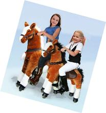 UFREE Large Mechanical Rocking Horse Toy, Bounce up and Down