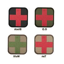 Condor Medic Patch  - Tan / Red