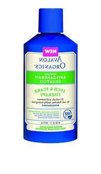 Avalon Organics Anti-Dandruff Itch & Flake Shampoo, 14 Fluid