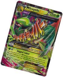 Mega/M Sceptile EX  Rare/Holo-Foil Pokemon Card