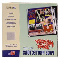 Memory Book Top-Load Page Protectors - 50 Ct