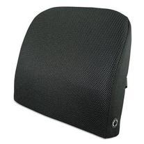 Memory Foam Massage Lumbar Cushion, 12-3/4w x 3-1/2d x 12-1/