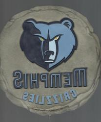 Memphis Grizzlies Nba Basketball Stepping Stone Wall Plaque