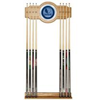 Memphis Grizzlies NBA Billiard Cue Rack with Mirror