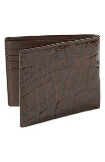 Men's Boconi Crocodile Wallet - Brown