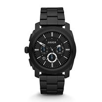 Fossil Men's FS4552 Machine Black Stainless Steel