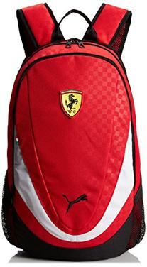 PUMA Men's Ferrari Replica Backpack, Red, One Size