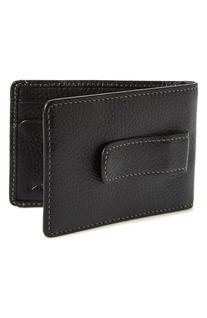 Men's Boconi 'Tyler' Money Clip Wallet - Black