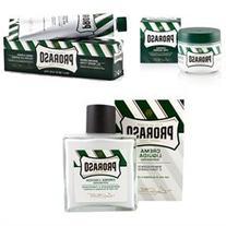 Proraso Menthol & Eucalyptus Set: Pre-shave Cream 3.6oz +