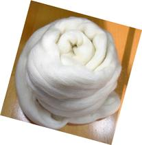 Merino Natural Undyed Combed Top Wool Roving Spinning