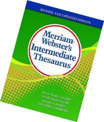 Merriam-Webster's Intermediate Thesaurus, Newest Edition