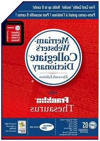 Palm Merriam-Webster8217;s Collegiate Dictionary and