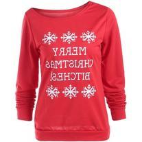 Merry Christmas Bitches Graphic Sweatshirt