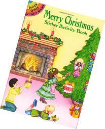Merry Christmas Sticker Activity Book