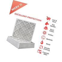20x20x1 MERV 11  Air Filters for AC and Furnace - 6 Pack