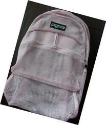 Jansport Mesh Backpack - Pink