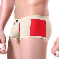 DESMIIT Men's Mesh Breathable Boxer Brief US X-Small