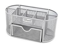 EasyPAG Mesh Office Desk Accessories Organizer 9 Components
