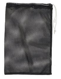 "Champion Sports Mesh Equipment Bag - 12"" x 18"", Black"