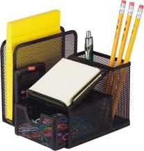 Mesh all in one Desk Caddy office sorter & Organizer by