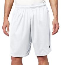 Russell Athletic Men's Mesh Pocket Short, White, Medium