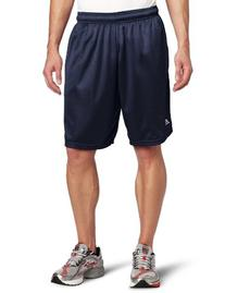 Russell Athletic Men's Mesh Short with Pockets, Black, XX-