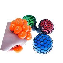 naughtygifts Mesh Rubber Hand Toy Grape Squeezing Ball For